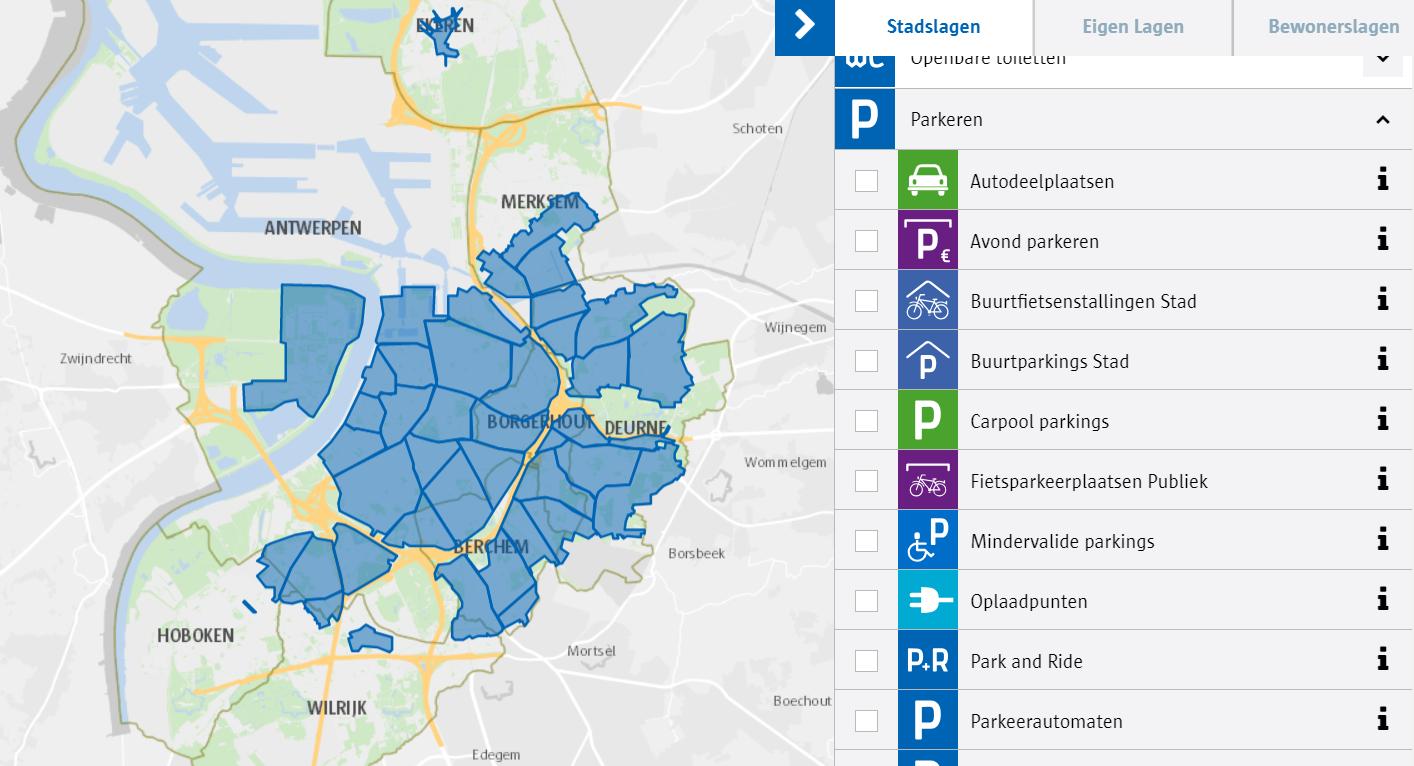 Nieuwe Parkeerregeling In En Rond Antwerpen Vanaf 1 April 2019 Ondernemen In Antwerpen